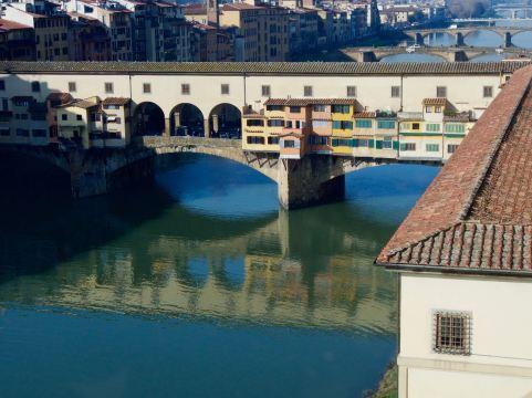 Blue Florentine river