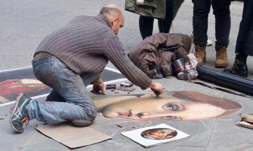 Chalk Madonna