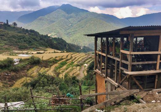 Mountain farmland