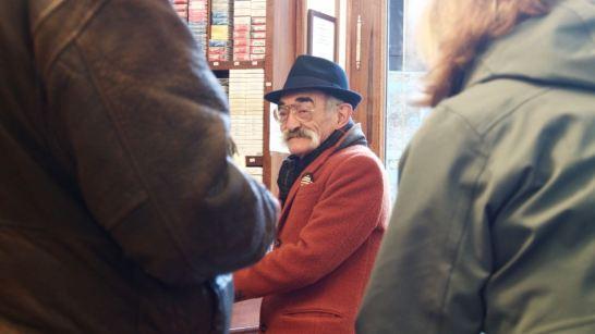 Moustachioed man