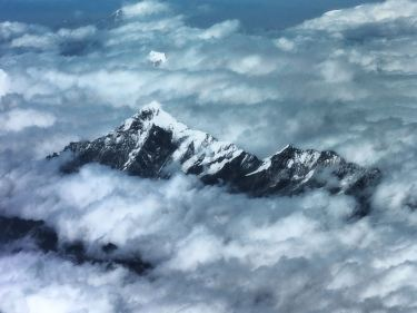 Everest from the plane