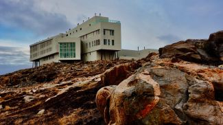 Fogo Island Inn on the rocks