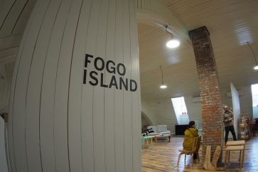 Fogo Island workshop