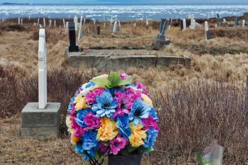 Cemetery by the sea